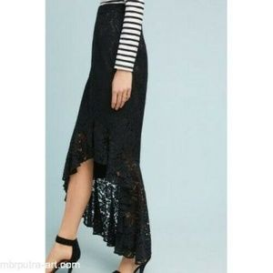 Anthropologie Skirts - New Anthropologie Showstopper Lace Skirt by Eliza